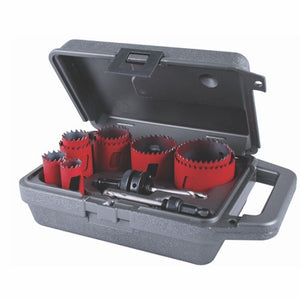 MK Morse MHS100 Holesaw BIM MHS Kit Maint 11pc.