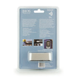 132HC Wireless Pre-programmed Thermometer back of retail packaging