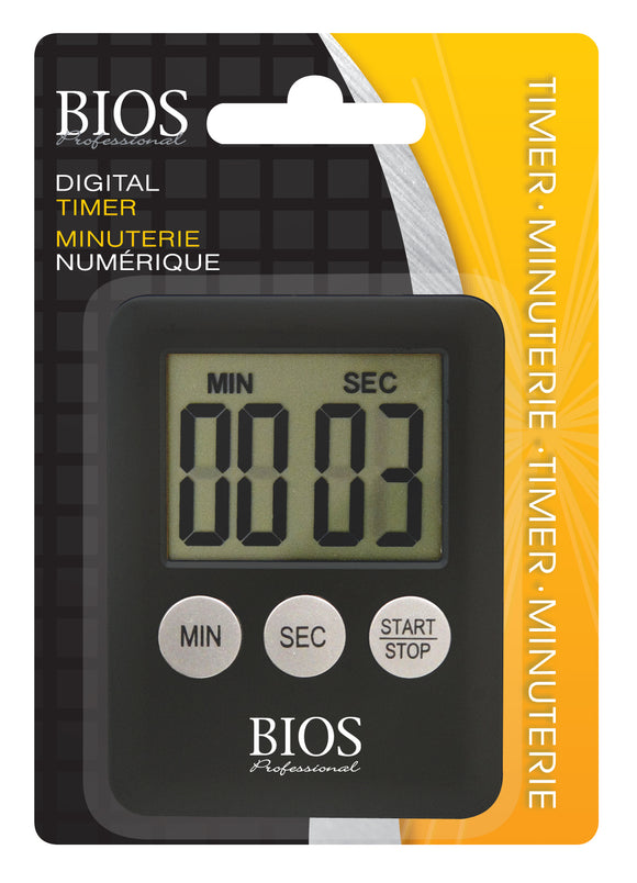 138HC Digital Timer retail packaging - front