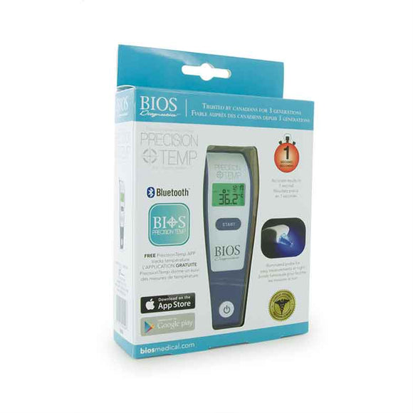 Precisiontemp Digital Ear Thermometer (w/App)