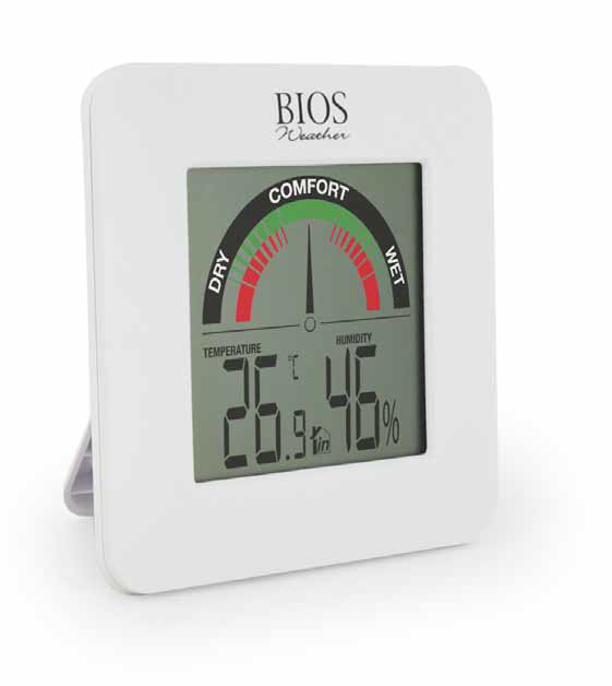 Indoor Hygrometer with Temperature