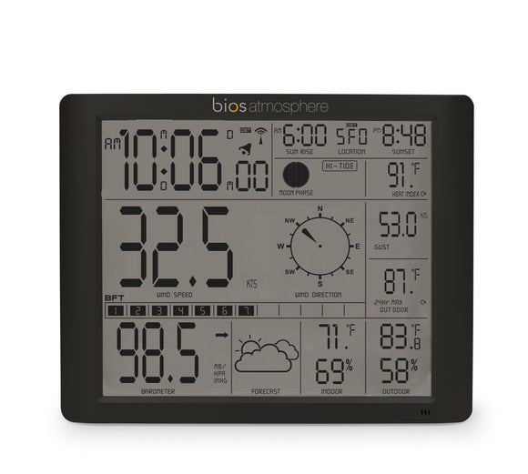 Jumbo Weather Station Monitor