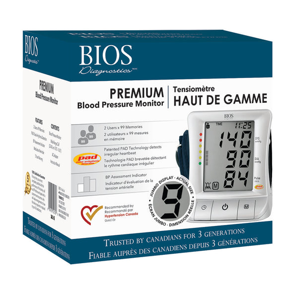 3AL1-3E Premium Blood Pressure Monitor