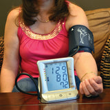 Bios Diagnostics Premium Blood Pressure Monitor - 3AL1-3E - In use