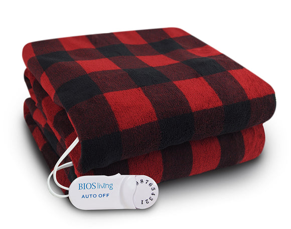 Buffalo Plaid Electric Throw