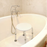 Adjustable Bath and Shower Stool in a bath tub