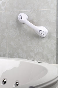 "16"" Suction Cup Grab Bar with Safety Assist"