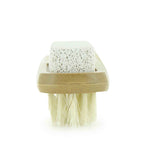 Bamboo Foot Brush Bristles and pumice stone