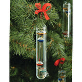 BA450 Hanging Baby Galileo Thermometer on a Christmas tree