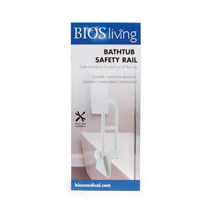 BD715 BIOS Living Bathtub Safety Rail retail packaging - front