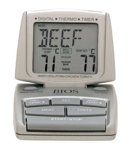 Meat and Poultry Thermometer Timer