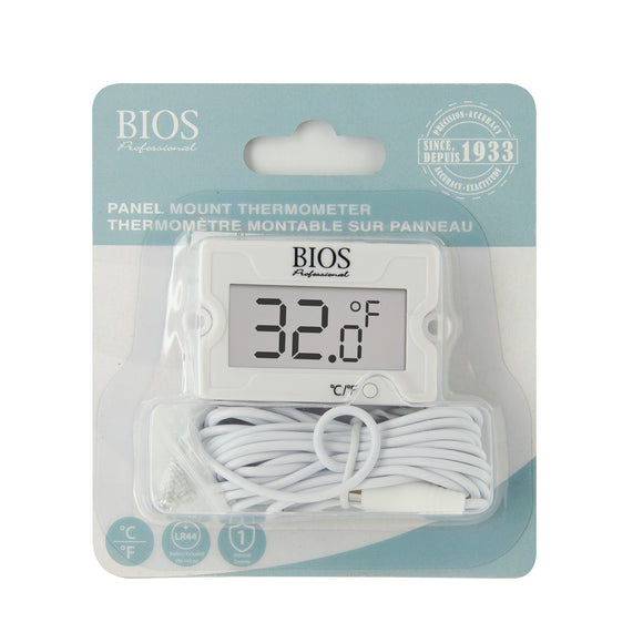 DT157 Panel Mount Thermometer retail packaging