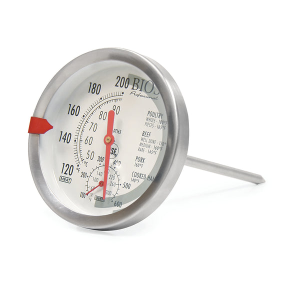 DT165 Dial Meat & Oven Thermometer on an Angle