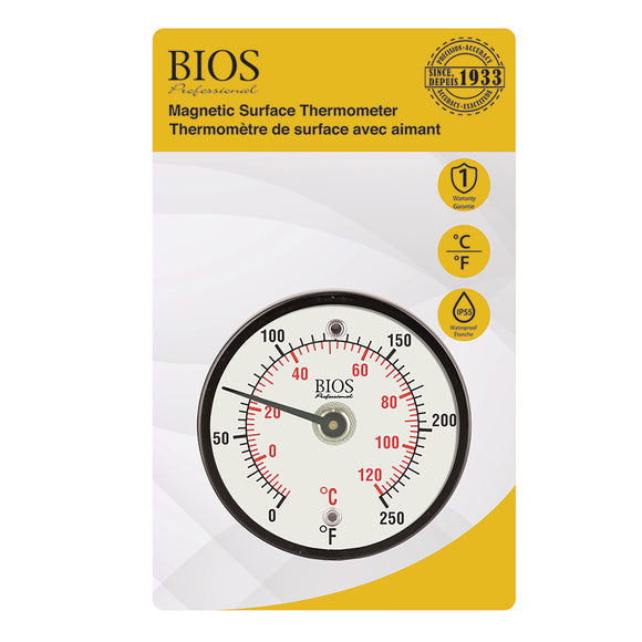 DT500 Magnetic Surface Thermometer Retail Packaging