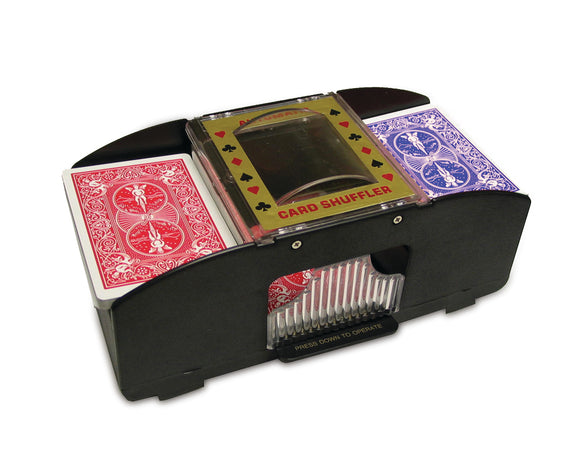 Two Deck Card Shuffler