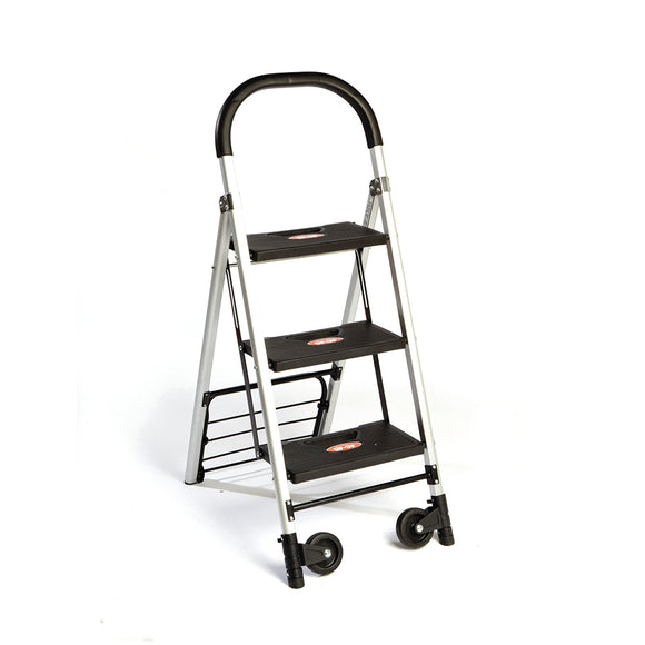2-in-1 Step Stool Ladder