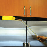 LF357 Long Handled Sponge brush in use cleaning hard to reach areas