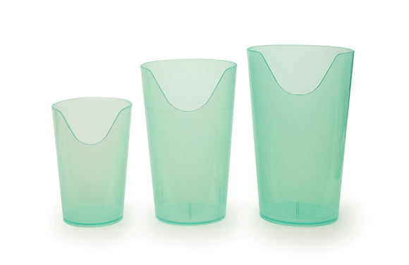 Transparent Nosey Cups
