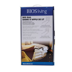 LF838 Adjustable Bed Rail retail packaging - front