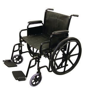 "24"" / 61 cm Bariatric Wheelchair"