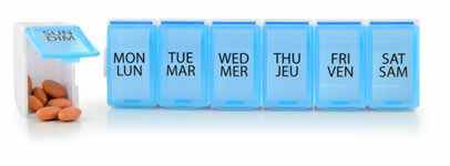 Detachable 7 Day Pill Organizer