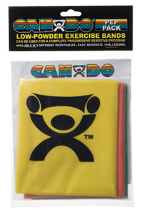 Cando Exercise Bands - multi-pack