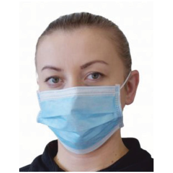 Disposable Procedural Face Mask - Level 2 Medical Grade