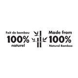 Made from 100% Natural Bamboo Logo