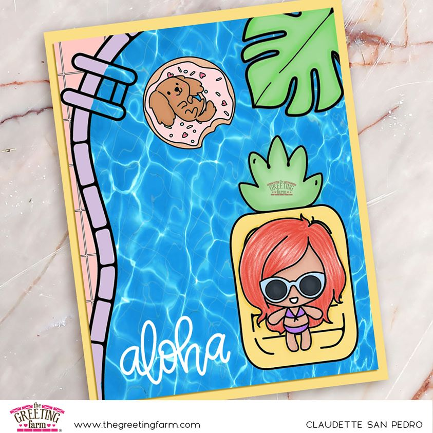 Stamp Feature: Poolside & Poolside Peeps Digi