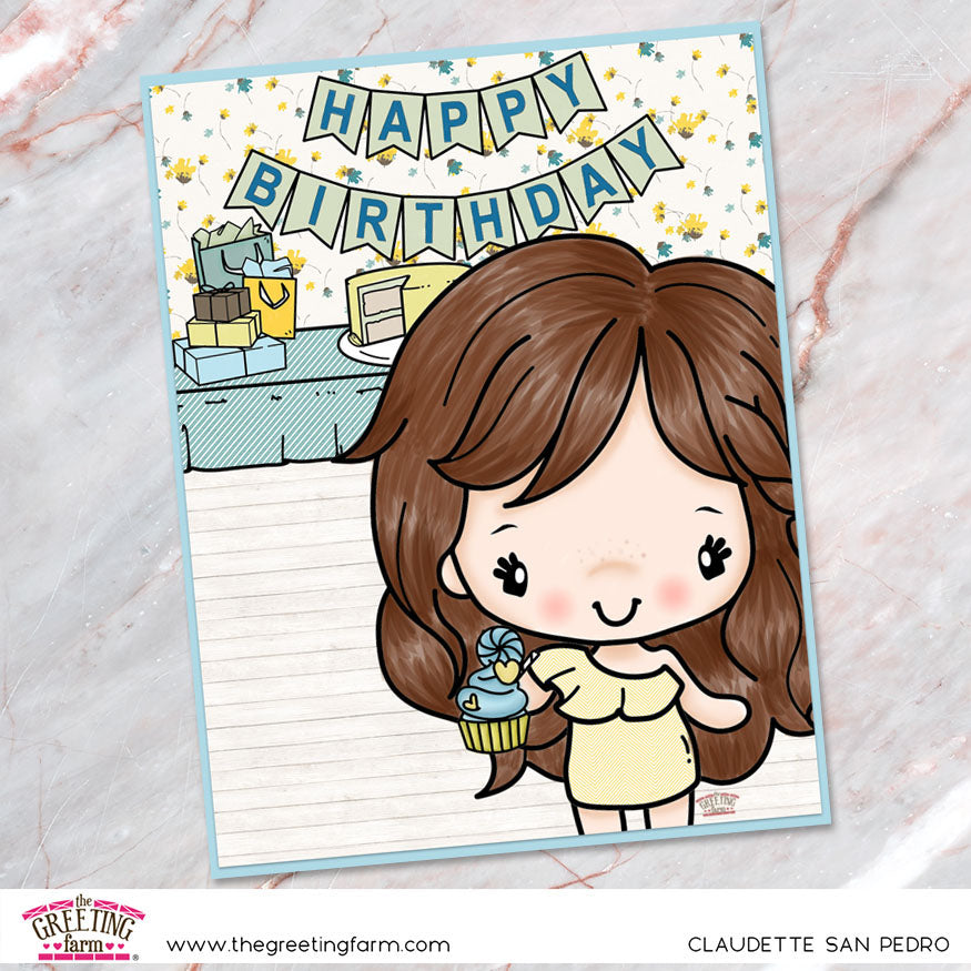 Stamp Feature: Birthday Party (digi)