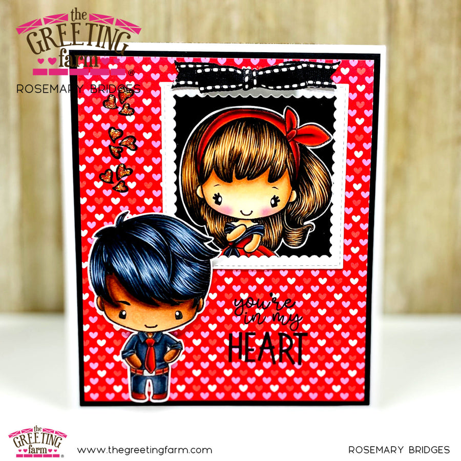 Stamp Feature: Love Couple