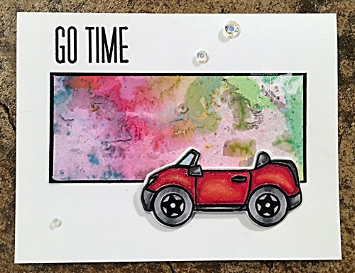Guest Designer Kelli Hull with Mega-Mini Go Time!