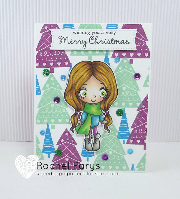 Guest Designer Rachel Parys is Wishing You A Very Merry Christmas!