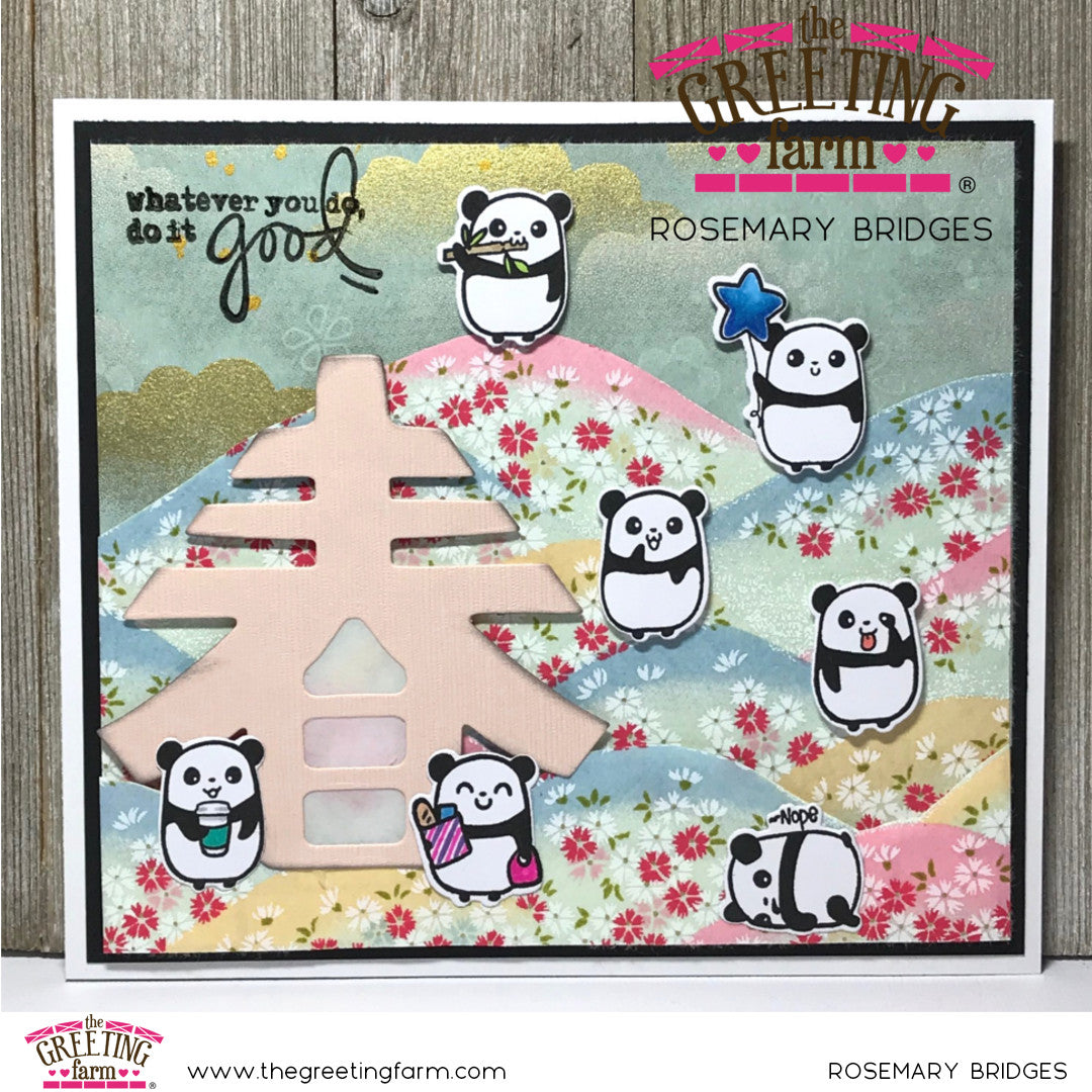 Stamp Feature: Panda Plans