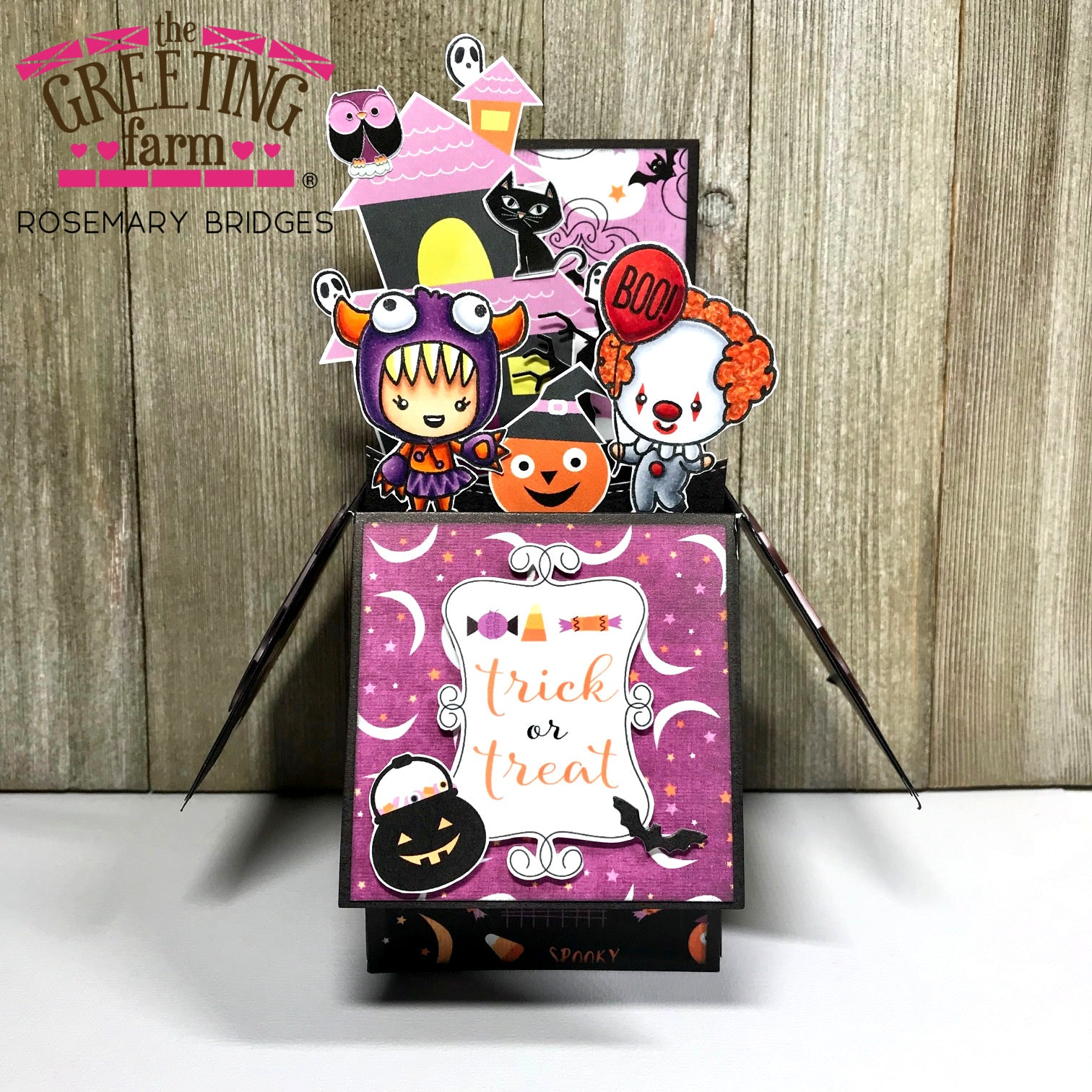 Stamp Feature: Trick or Treat 3