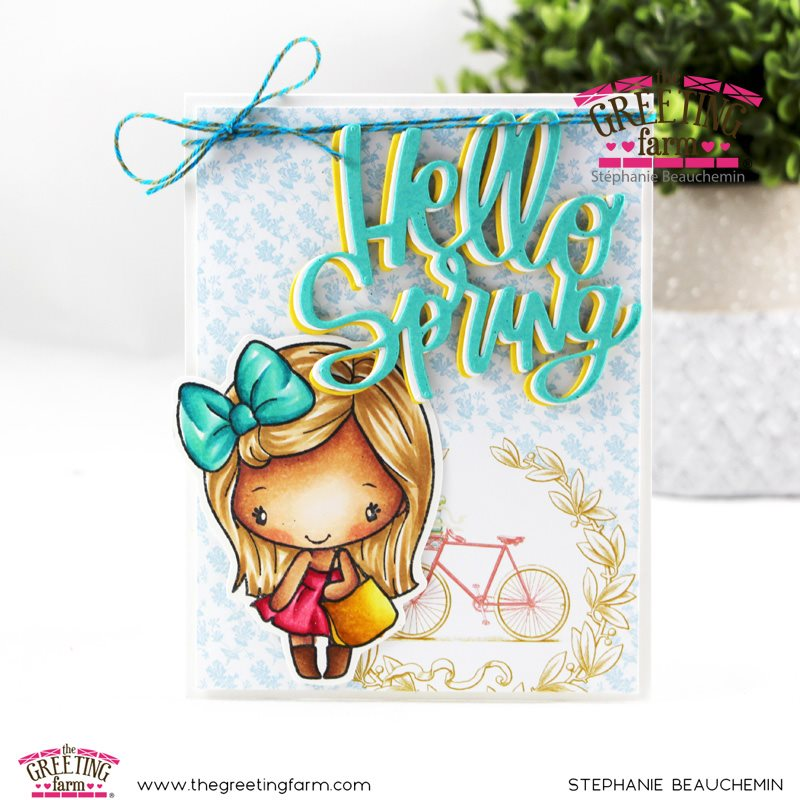 February 2020 Release Preview Day 4: HELLO SPRING CUTTING DIE