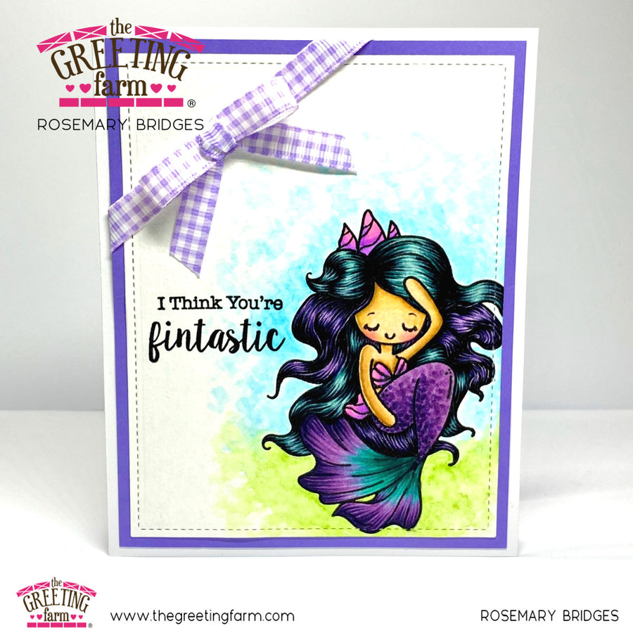 Stamp Feature: Jellia Mermaid