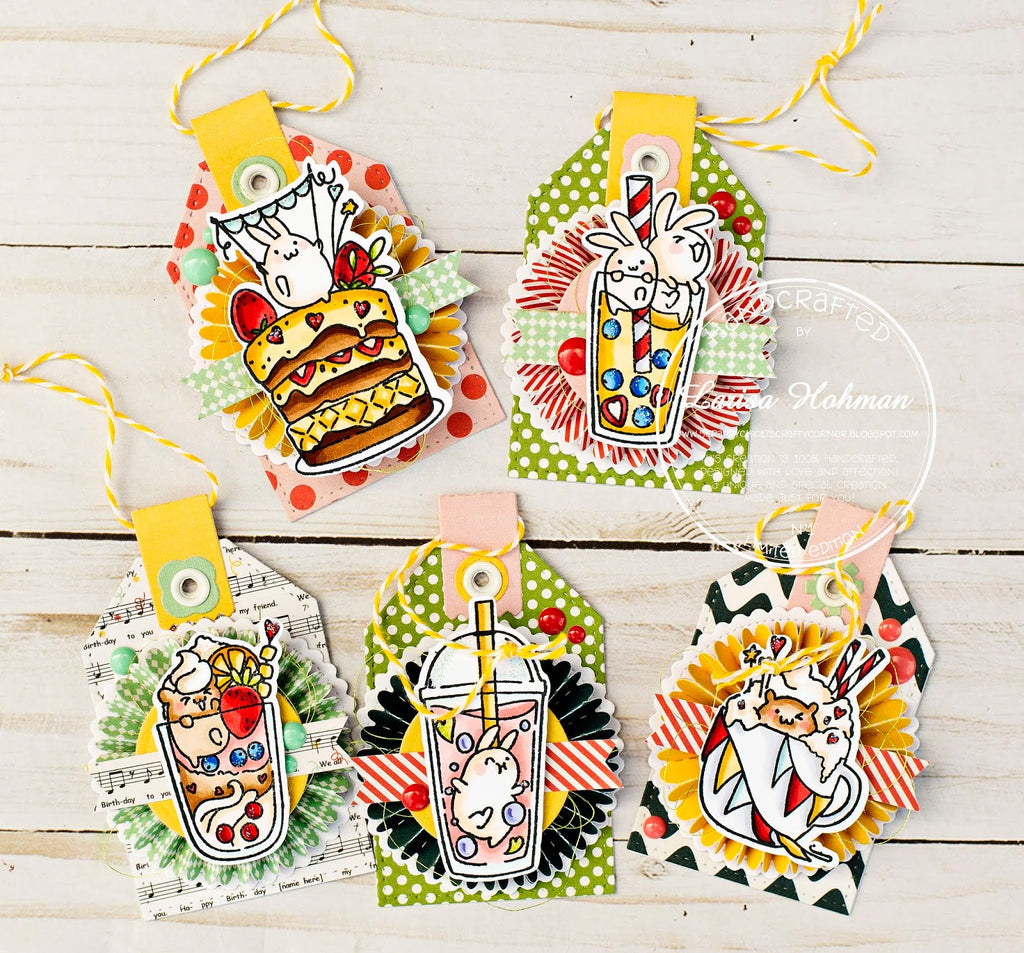Guest Designer Larisa Hohman with Small Surprises TAGS!