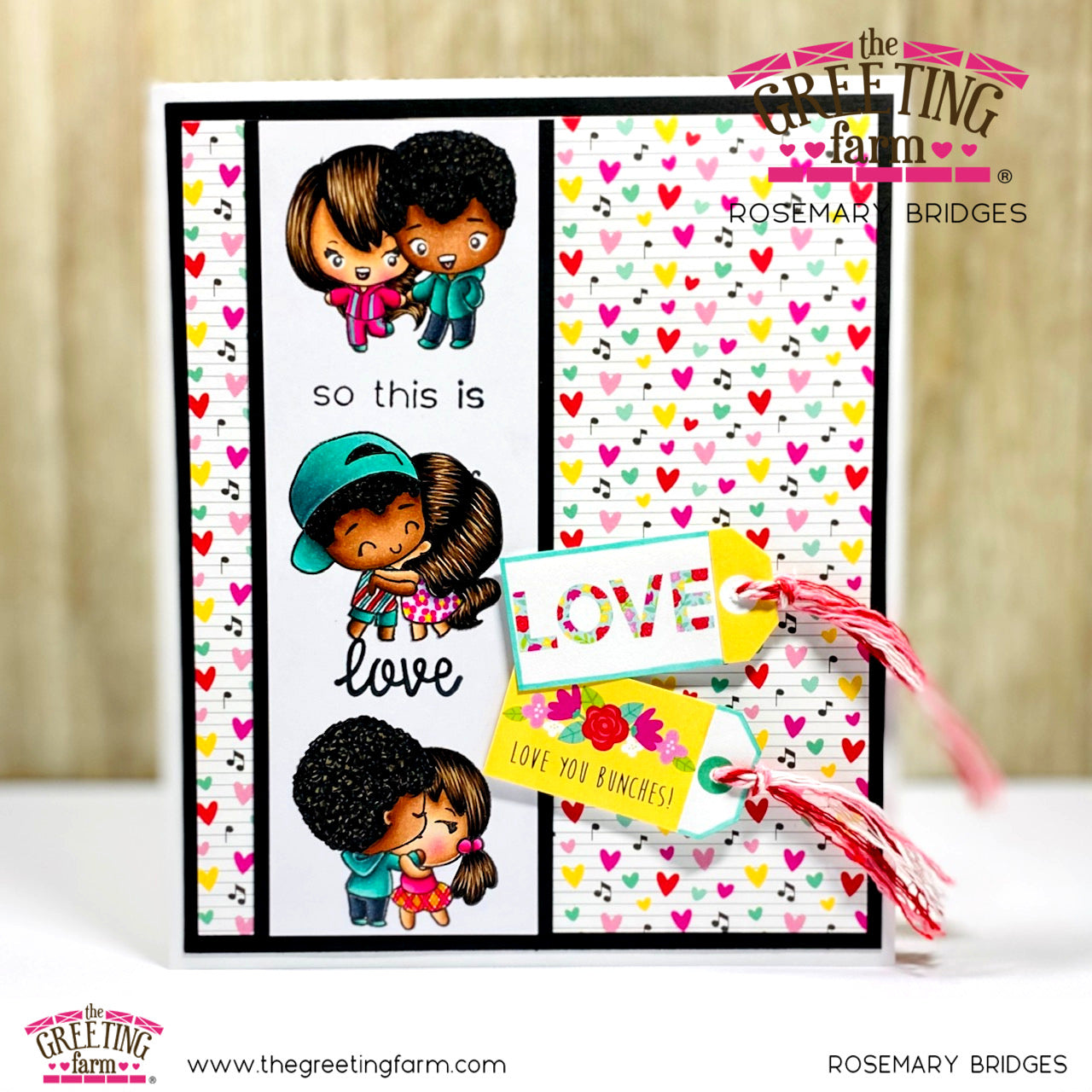 Stamp Feature: So This Is Love