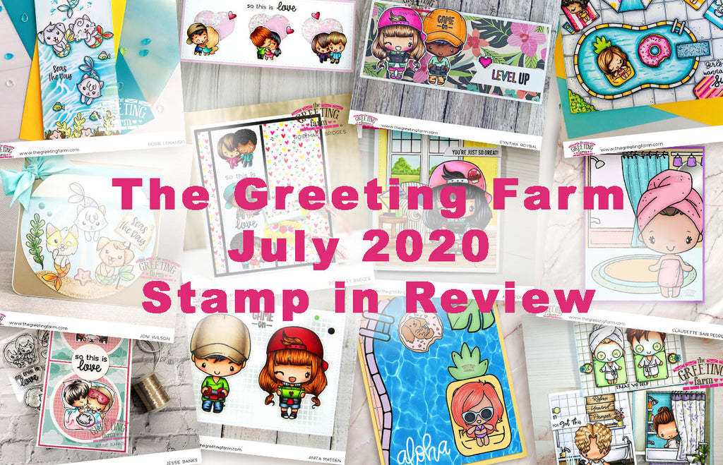 July's Stamp in Review Video and YT Winner!