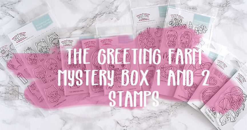 A look at Mystery Box 1 and 2 stamps...NOW AVAILABLE!