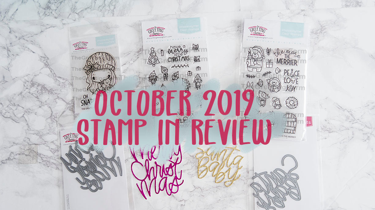 October's Stamp In Review Video
