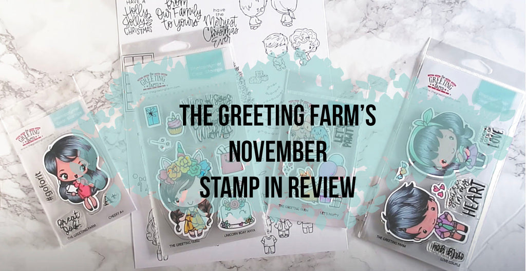 November's Stamp in Review Video