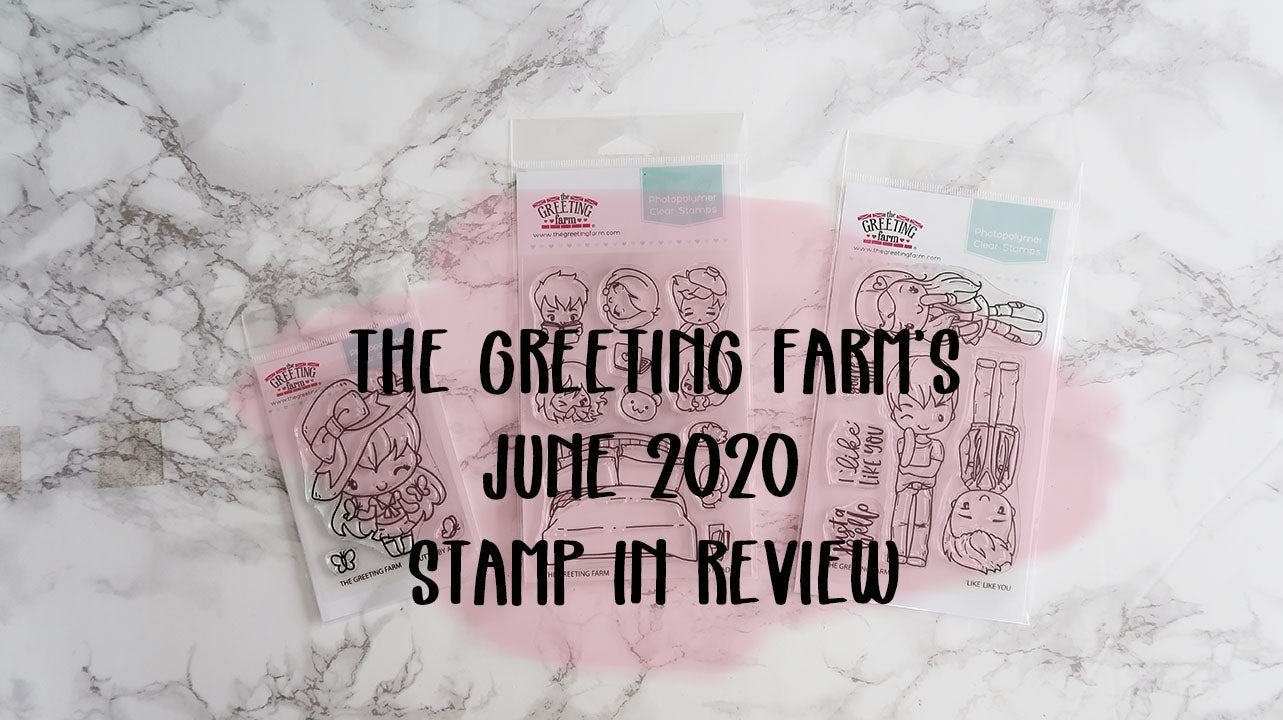 June's Stamp in Review Video and Winner announced!