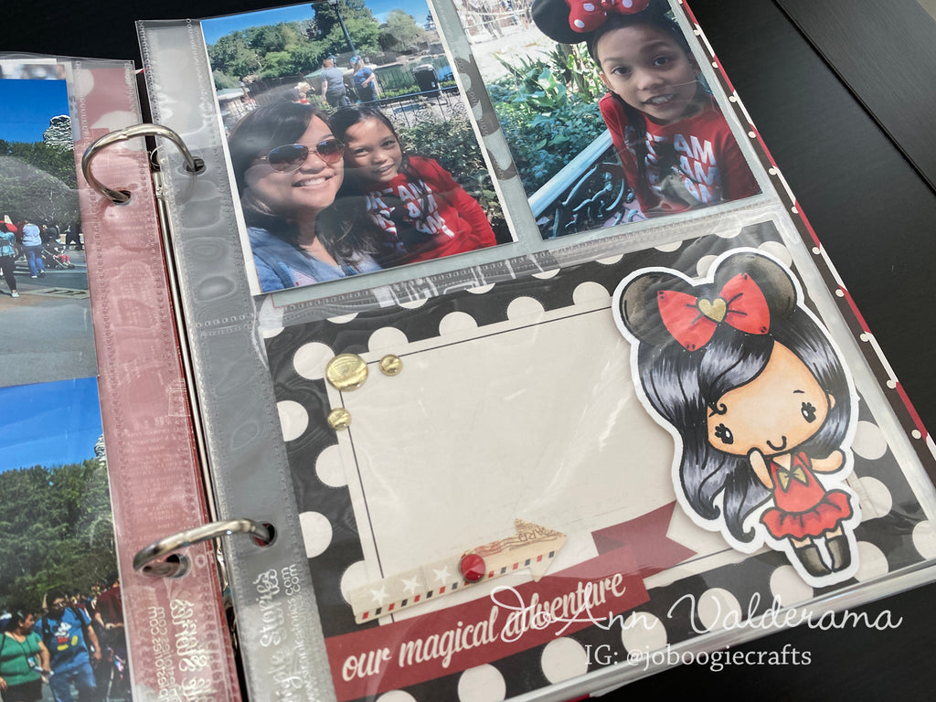Easy Pocket Scrapbooking Card with Best Day Anya!