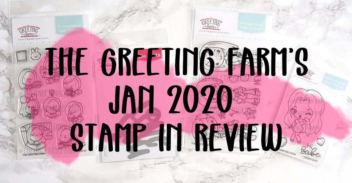 Janurary 2020 - Stamp in Review