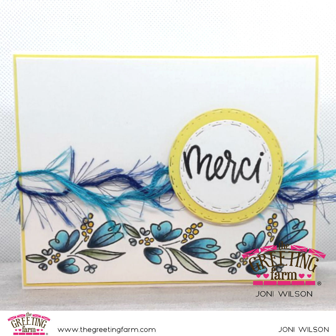 Stamp Feature: Bouquet
