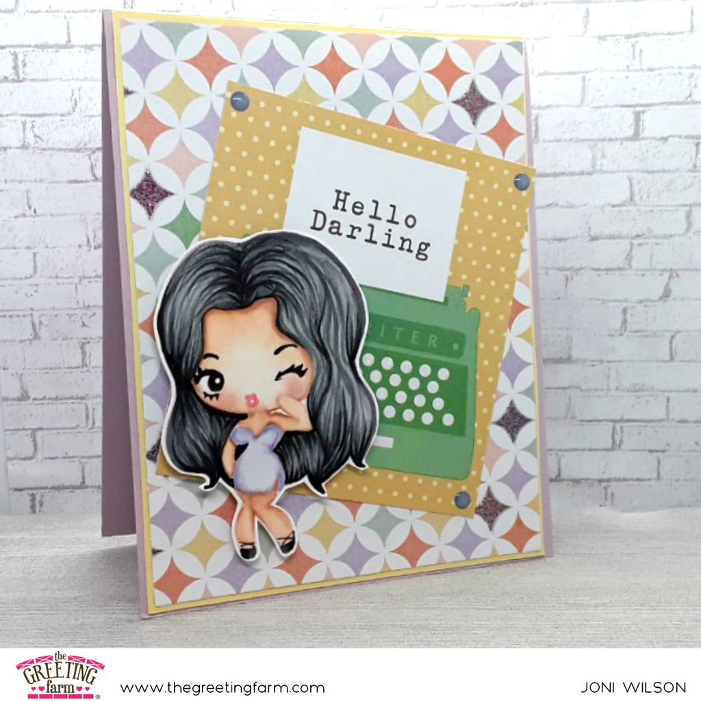 Stamp Feature: Cheeky Babe