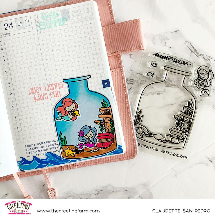 Stamp Feature: Mermaid Kisses & Mermaid Grotto