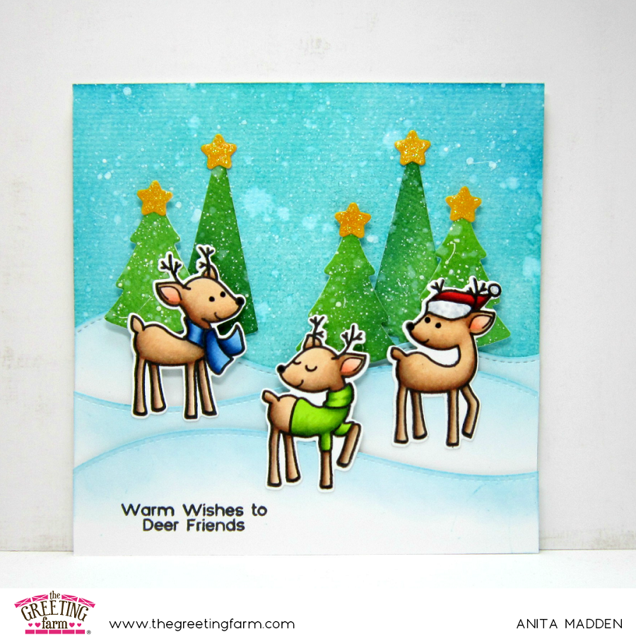 Warm Wishes To Deer Friends